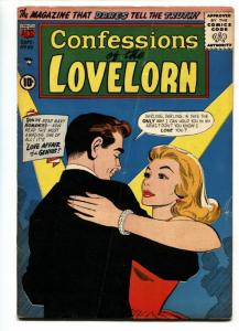 Confessions Of The Lovelorn #85 1957- Love Affair of a Genius VG+