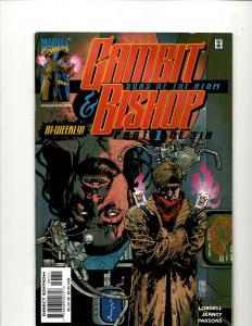 Lot of 11 Comics Gambit & Bishop 1 2 3 4 5 6 Alpha 1 & The Xternals 1 2 3 4 EK5