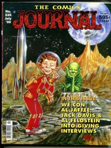 Comics Journal #225 2000-Alfred E Neuman-Kelly Freas-Jack Davis-Jaffee-VG-