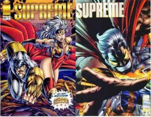 SUPREME (1992 IMAGE) 28A-28B Set of BOTH Variant Covers