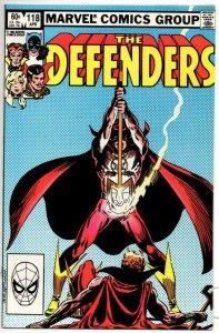 DEFENDERS #118, NM-, Son of Satan Daimon Hellstrom 1972 1983 Marvel