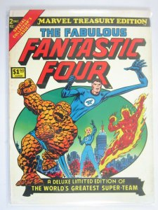Marvel Treasury Edition #2 Fantastic Four 5.0 VG FN bagged and boarded (1974)