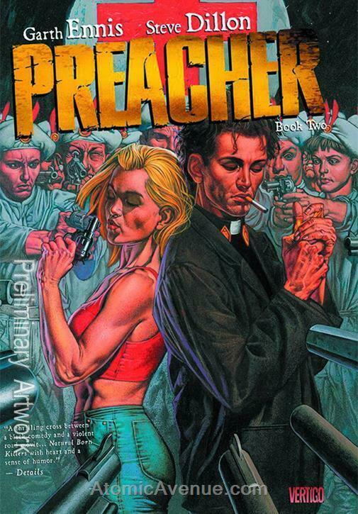 Preacher Deluxe #2 VF/NM; DC/Vertigo   save on shipping - details inside