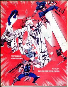 FOOM #7 1974-Marvel-Stan Lee-Thor-Capt America-Steranko-Jack Abel-FN-