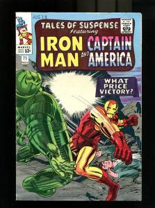 TALES OF SUSPENSE #71-1965-NOV-IRON MAN/CAPTAIN AMERICA FN