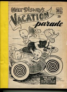 Walt Disney's Vacation Parade #1 1950-Dell-photo copy-Carl Barks-Donald Duck G