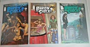 3 of Image Whatever Happened To Baron Von Shock #1 2 4 Rob Zombie Presents VF NM