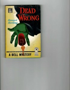 3 Books Dead Wrong Tombstone Wiped Out Murder Mystery Novels JK8
