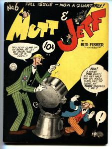 Mutt and Jeff #6 1942- BUD FISHER- Golden Age VF-