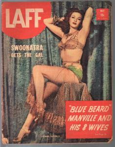 Laff  5/1940-Yvonne DeCarlo-showgirls-cheesecake-exploitation-cover girls-VG