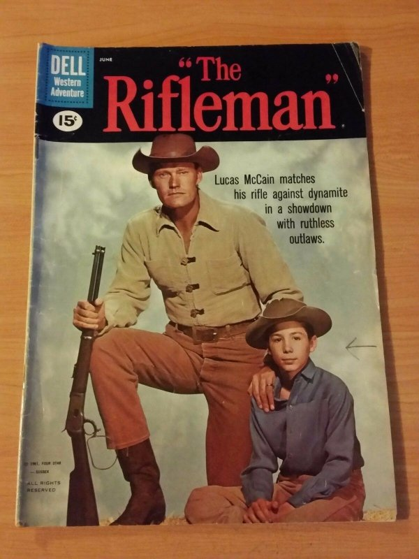 The Rifleman #7 ~ VERY GOOD - FINE FN ~ 1961 DELL COMICS