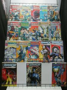 RoboCop Mini-Library from Dark Horse and Marvel Lot of 18Diff Comin' with Him