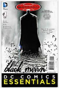 DC Comics Essentials Batman Black Mirror #1 (DC, 2014) NM