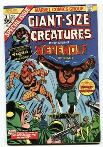 Giant-Size Creatures #1 1st appearance Of Tigra- VF-