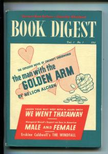 BOOK DIGEST #1-04/1950-MAN WITH THE GOLDEN ARM-MEAD-SOUTHERN STATES-vf/nm