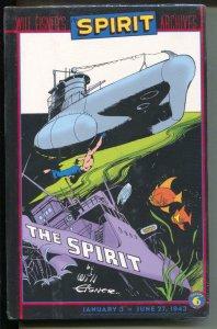 Spirit Archives-Vol.6-Bill Eisner-Sealed Hardcover