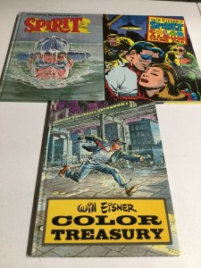 Will Eisner's The Spirit Color Album Volume 1 2 Color Treasury HC Oversized