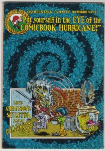 Zap #5 (Jan-73) VG Affordable-Grade Star Eyed Stella, The Checkered Demon, Mr...