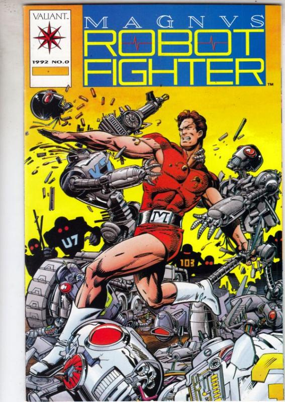Magnus Robot Fighter #0 (Jan-91) NM/NM- High-Grade Magnus Robot Fighter