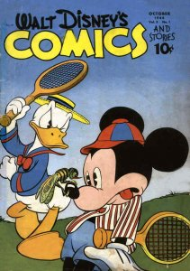 Walt Disney's Comics and Stories #49 FAIR; Dell   low grade comic - save on ship