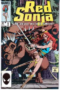 Red Sonja(Marvel, vol.3) # 8 Queen of Ice and Blood