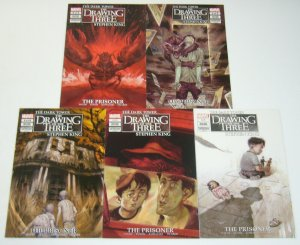 Stephen King's Dark Tower: Drawing of the Three - Prisoner #1-5 VF/NM complete