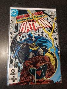 DETECTIVE COMICS #527 BATMAN MAN BAT GREEN ARROW VF