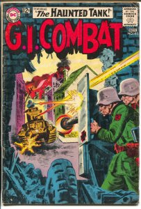 G.I. Combat #102 1963-DC-Haunted Tank-Joe Kubert-greytone cover-VG