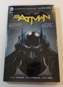 Batman Vol.4 Zero Year- Secret City New 52 Hard Cover New Sealed DC Comics