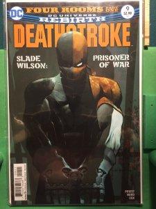 Deathstroke #9 DC Universe Rebirth
