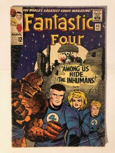 Fantastic Four #45 - 1st Appearance of the Inhumans