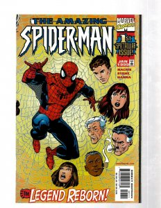 Amazing Spider-Man # 1 NM 1st Print Vol. # 2 Marvel Comic Book Goblin Venom J460