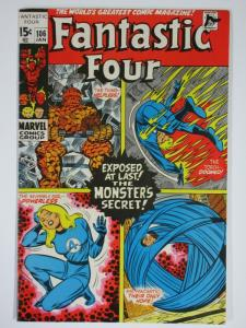 FANTASTIC FOUR 106 VG  Jan. 1971 COMICS BOOK