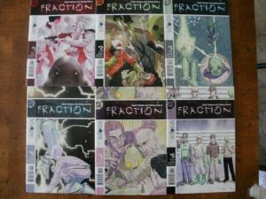 6 DC FRACTION Comic Book: #1 #2 #3 #4 #5 #6 (2004) DC Focus