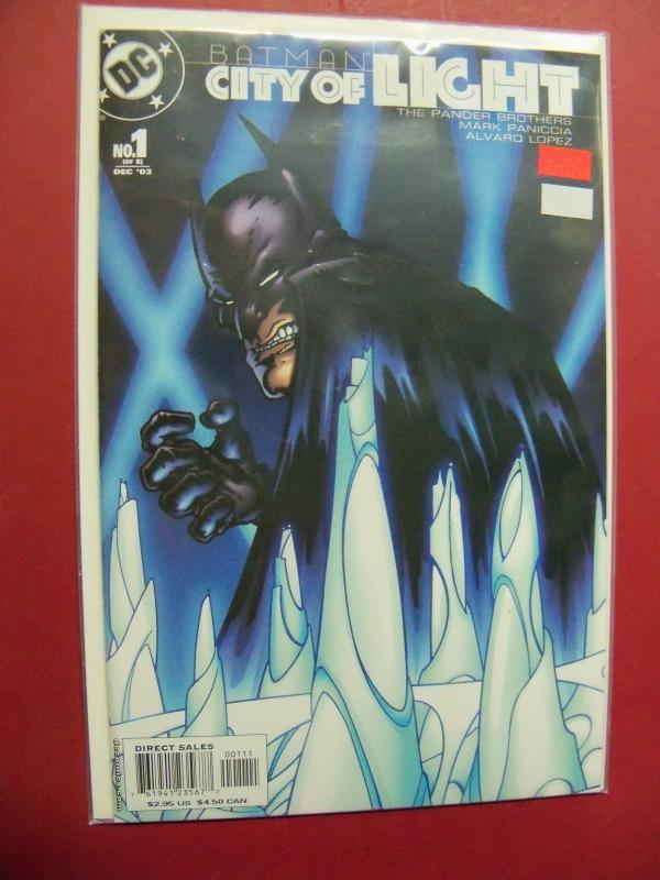 BATMAN CITY OF LIGHT #1 Near Mint 9.4 Or Better DC COMICS