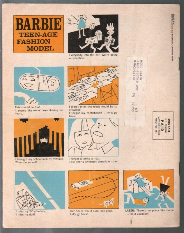 Barbie 5/1967-Mattel-What Kind Of Girl Is Barbie?-Barbie-Doll collectors magaz