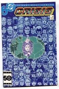 CRISIS ON INFINITE EARTHS #5 comic book 1985-DC Geoge Perez