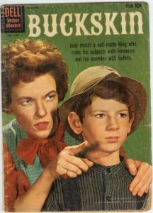BUCKSKIN FC 1107 (July 1959) GOOD COMICS BOOK