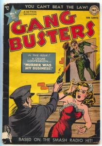 Gang Busters #1 1947- DC Golden Age Crime comic VG+