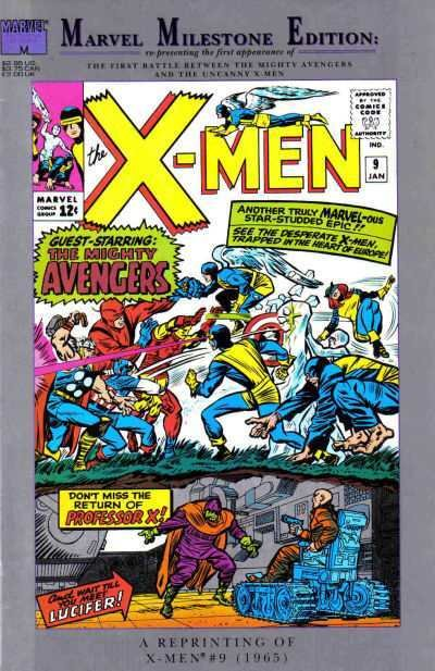 Marvel Milestone Edition X-Men #9, VF+ (Stock photo)