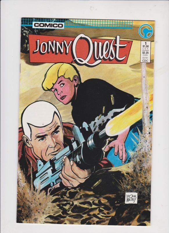 JOHHNY QUEST #1 [ 2 ISSUES ] 1986 / COMICO