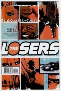 LOSERS #2, NM+, Andy Diggle, Vertigo, Military, Jock, more Vertigo in store