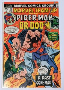 Marvel Team-Up #43 (Mar 1976, Marvel) VF+ 8.5 Doctor Doom appearance