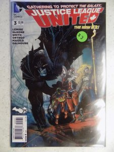 NEW 52 JUSTICE LEAGUE UNITED # 3