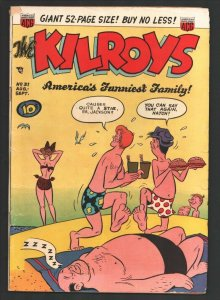 Kilroys #31 1951-ACG-Moronica-swimsuit gag cover-52 page issue-Solid Jackso...