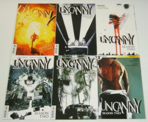 Uncanny Season Two #1-6 VF/NM complete series - andy diggle - jock covers set