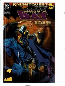 Lot Of 9 Shadow Of The Bat DC Comic Books # 19 21 22 23 25 26 27 28 29 DB12