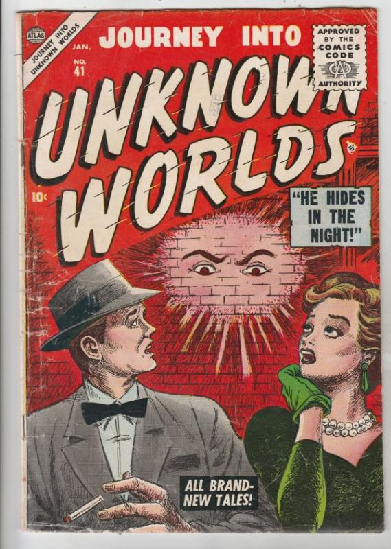 Journey Into Unknown Worlds #41 (Jan-56) VG+ Affordable-Grade