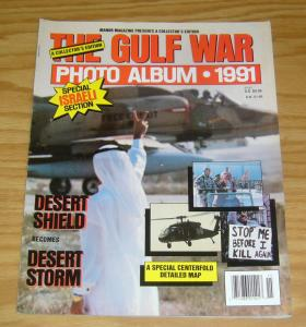 Gulf War Photo Album Magazine 1991 VF/NM israeli section - desert storm mag