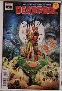 Deadpool #4 signed by Skottie Young